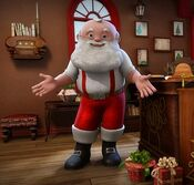 Santa from The Elf on the Shelf
