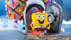 SpongeBob in Stop-motion