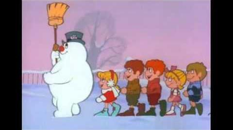 Video Jimmy Durante Quot Frosty The Snowman Quot Christmas