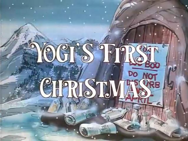 yogis first christmas 1980