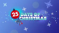 25 Days of Christmas logo (2018)