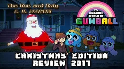 "Martin's Christmas Edition Review... ""Christmas"" ~ The Amazing World of Gumball"