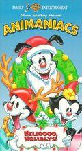 Animaniacs Christmas VHS