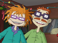 Chuckie and Chaz The Finster Who Stole Christmas