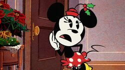 Minnie in Duck the Halls