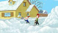 PaFCV Shoveling Snow