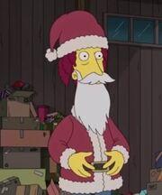 Sideshow Bob as Santa
