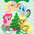 MLP Christmas tree picture