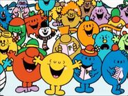 Mr Men singing a Christmas song