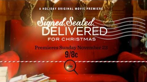 Signed Sealed Delivered for Christmas