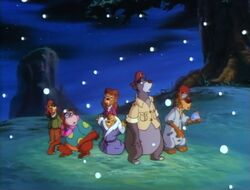 TaleSpin Christmas group shot