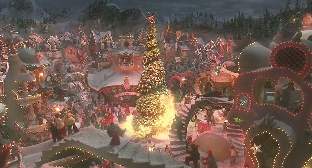 Whoville How The Grinch Stole Christmas