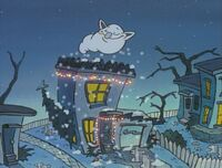 Rocko's house finally gets snow