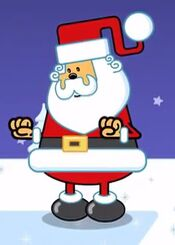 Santa in Wow Wow Wubbzy