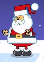 Santa in Wow Wow Wubbzy
