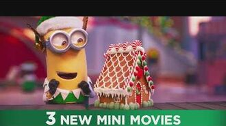 The Grinch Holiday Mini-Movie Own it on 4K Ultra HD, Blu-ray, DVD & Digital