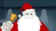 Baymax as Santa