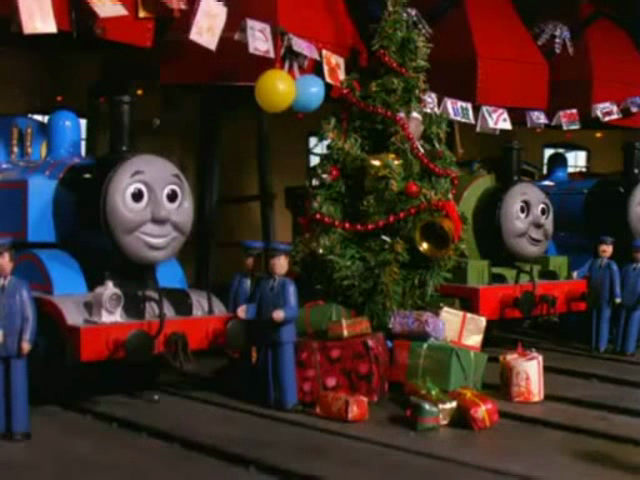 Thomas The Train Christmas Tree.Category Thomas The Tank Engine Christmas Specials Wiki