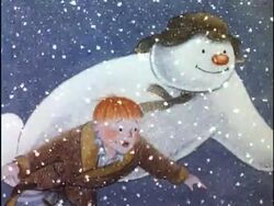The Snowman with James