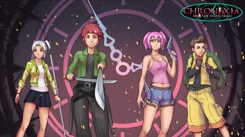 "Chronexia and the Eight Seals - Full Opening Theme Song ""Rewind"""
