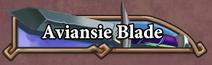 Aviansie Blade Title