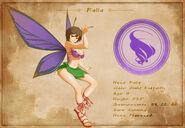 Character Sheet - Falla