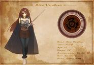 Character Sheet - Mika Harollson