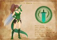 Character Sheet - Sasha