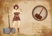 Character Sheet - Rulo