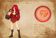 Character Sheet - Saffron