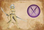 Character Sheet - Tabitha