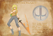 Character Sheet - Triska Raylight