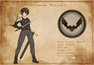 Character Sheet - Daemon Warrick