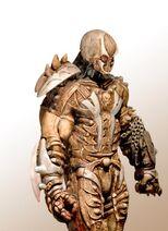 Caleb's battle armor