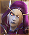 Sylvanas Card Small (Lewd Red Riding Hoof)