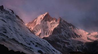 Shield-mountains