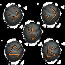 Fire runes