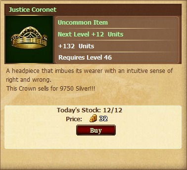 Justice Coronetll