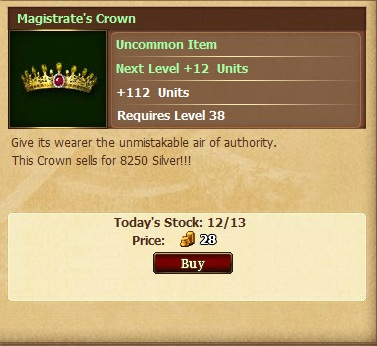 Magistrate's Crown';