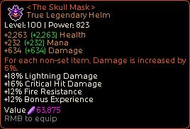 The Skull Mask