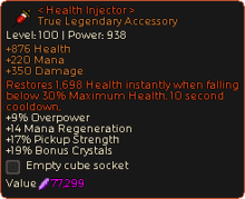 Health Injector -0