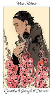 CJ Flowers, Maia