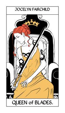 Tarot Blades 13Queen