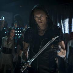 Jace bereitet sich auf das Töten des Dämos vor