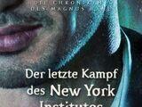Der letzte Kampf des New Yorker Instituts