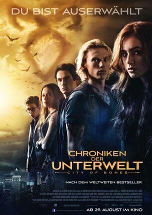 Chroniken der Unterwelt - City Of Bones - Plakat