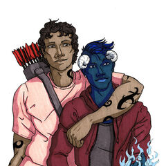 Rafe & Max Lightwood-Bane