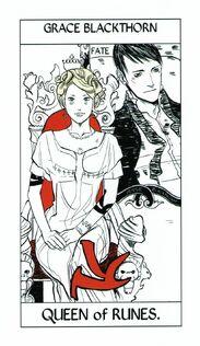 Tarot Runes 13Queen