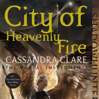 Repackaged <i>City of Heavenly Fire</i> US edition cover