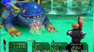 Chrono Cross - Water Dragon